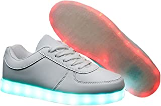 E Support USB Charging Flashing Sneakers Night LED Light Up Sports Dancing Shoes