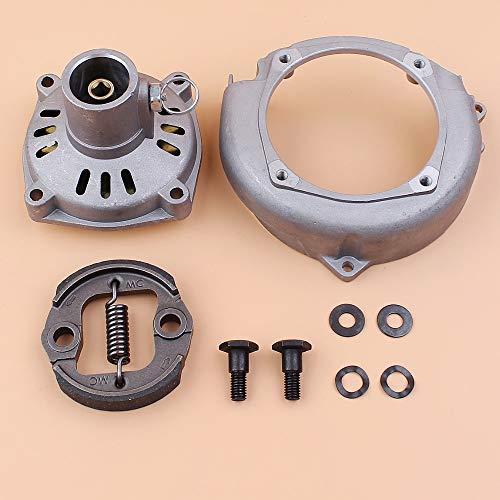 Beixi Zeit Kupplungstrommel Seiten-Kupplungs-Bolt Washer Kit for Honda GX31 GX35 GX35NT HHT31S GX 31 35 Benzin-Kleinmotoren Motor Trimmer Schneider