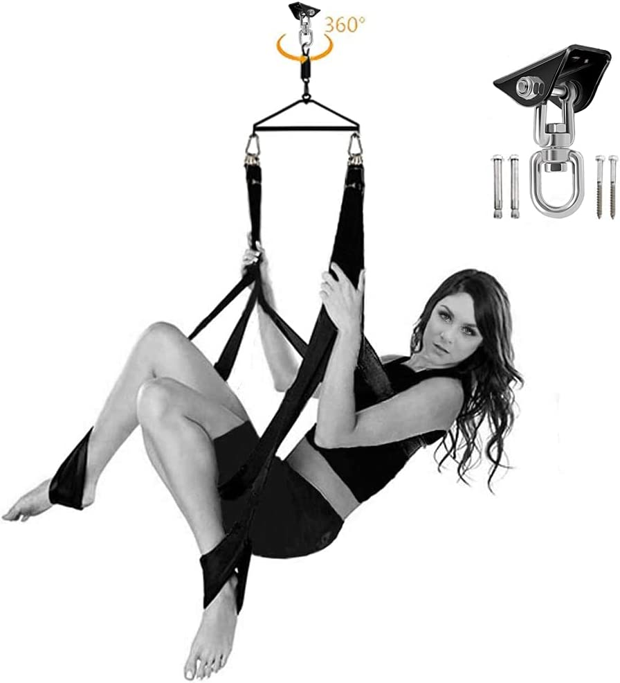 Sex Swing 360 Degree Spinning with Headrest Hook El 67% OFF of fixed price Paso Mall Dual