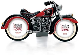 Burton & Burton All American Motorcycle Photo/Picture Frame for Motorcycle Enthusiast