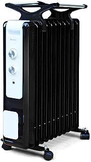 Calentadores eléctricos Calentador Calentador eléctrico de la Sala Aceite Radiador termoeléctrico de Ahorro de energía para el hogar con Ahorro de energía 2100W Calentadores de Agua y Piezas
