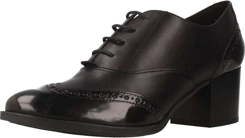 Geox Heeled shoes, Colour Black, Brand, Model Heeled shoes D HERIETE MID Black