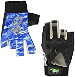 Fish Monkey Gloves The Crusher Gloves, XX-Large, Blue Water Camo