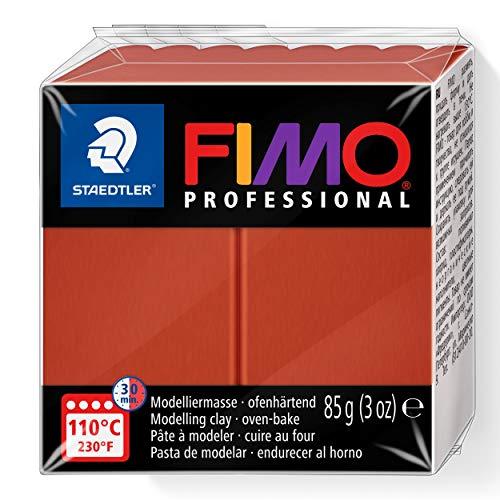 Staedtler Fimo professional Individual Standard Blocks 85g, Terracotta, 85 g