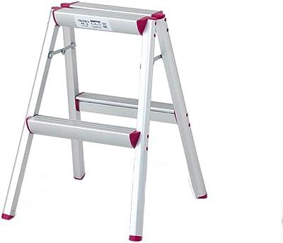 QQXX escalón, Escalera Plegable para el hogar de aleación de Aluminio Escalera Interior para Taburete (Tamaño: # 2) # 2: Amazon.es: Hogar