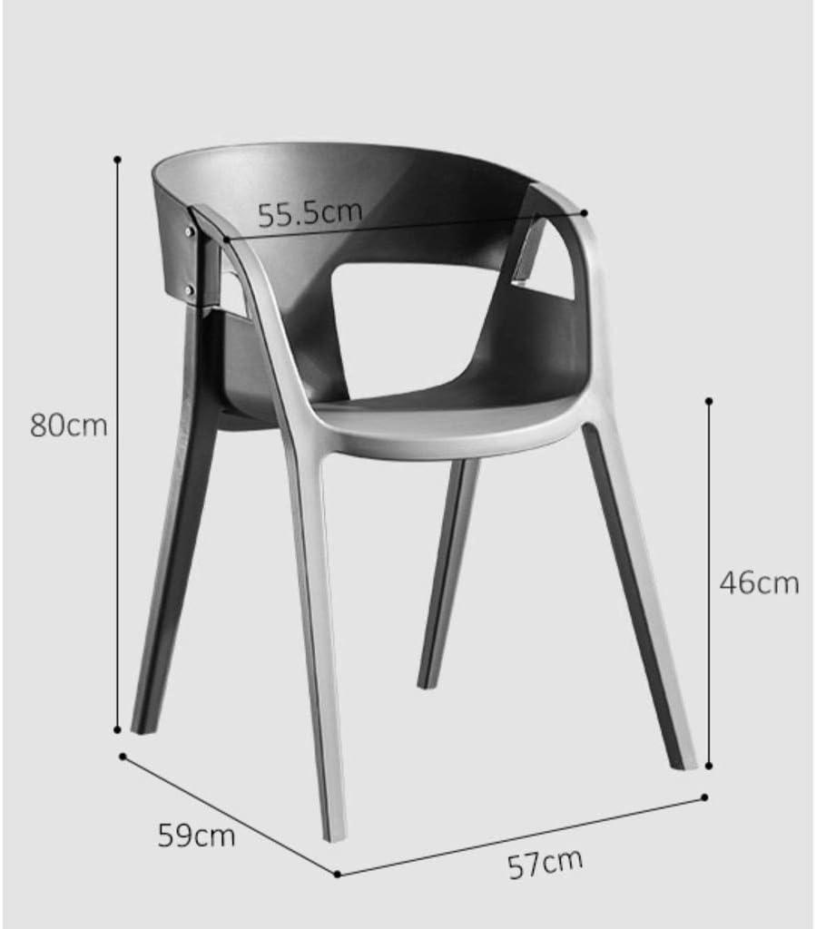 FENDOU Chaise de salle à manger simple, dossier créatif, chaise de loisirs, chaise de salle à manger pour adulte, mode (couleur : C) C