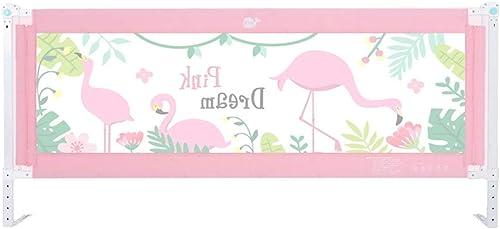 Laufgitter & -st e Krippe Leitplanke Baby Bruchsicher Zaun Größes Bett 1,5-1,8 Meter Kinder gegen Bedside-Schallwand (Größe   1.8m)