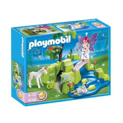 PLAYMOBIL: Compact Set Hada con Unicornio