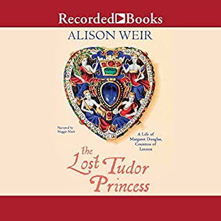 The Lost Tudor Princess audiobook cover art
