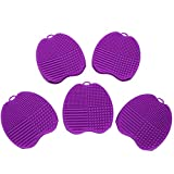 Cosmetic Brush Wash Mat Scrubber Brush Board 5pcs Convenient for use of makeup tools for use in beauty salons