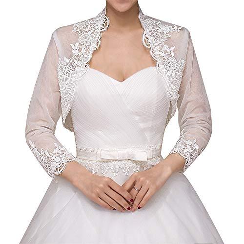 Mantella da cerimonia nuziale da donna Elegante scialle avvolgente scialle bolero stola capo nuziale per la decorazione abito da sposa per la decorazi