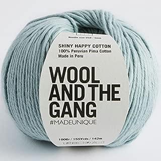 shiny happy cotton yarn