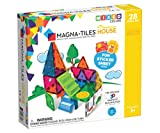 Magna Tiles - MAGHOUSE House Set, The Original, Award-Winning Magnetic Building, Creativity & Educational, Stem Approved, Solid & Clear Colors, Model Number: 18332