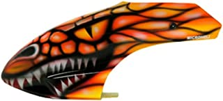 Microheli Airbrush Fiberglass Red Dragon Canopy - BLADE 300X
