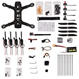 YKS DIY 250 Racing Quadcopter Full Carbon Fiber Frame Kit ARF with...