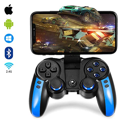 2.4G Wireless Mobile Game Controller for Android/iOS Phone/Tablet PC/TV Box Direct-Play Bluetooth Gaming Gamepad Joystick for Galaxy