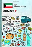 Kuwait Travel Diary: Kids Guided Journey Log Book 6x9 - Record Tracker Book For Writing, Sketching, Gratitude Prompt - Vacation Activities Memories Keepsake Journal - Girls Boys Traveling Notebook