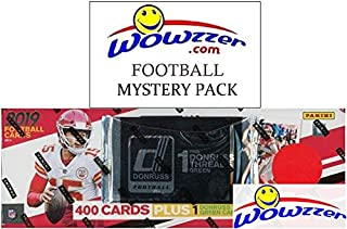 2019 Donruss NFL Football MASSIVE 401 Card Complete Factory Set with Memorabilia & 100 ROOKIE Cards including Kyler Murray, Daniel Jones & More! Plus Bonus WOWZZER Mystery Pack with AUTOGRAPH or MEM!