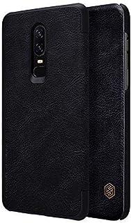 NILLKIN QIN Series Genuine Flip Wallet Leather Case For OnePlus 6