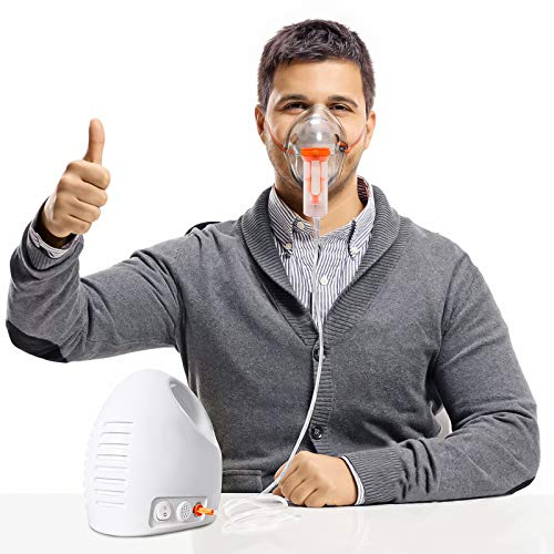 JUWA Nebulizer Machine for for Adults and Kids -Compressor Nebulizer for The Rspiratory -Household Steam Inhale Machine