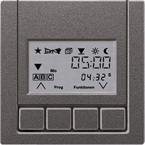 Jung AL5232TS3AN - Tecla persiana con programador horario estándar antracita