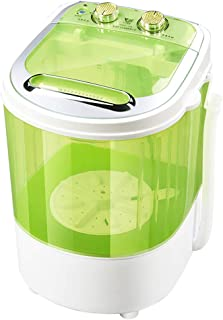 DIOE Portable Semi-Automatic Washing Machine,Washer and Spin Dryer,4kg Capacity Compact Laundry Washer for Apartments Camping (Green)