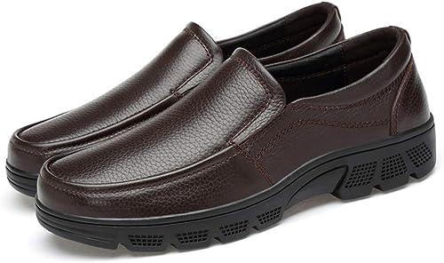 Dundun-zapatos Oxford Hombre 2018, Modañoxford Casual Conveniente Low Top Soft Suela Exterior Zapaños Formales para hombres (Color   marrón, Tamaño   40 EU)
