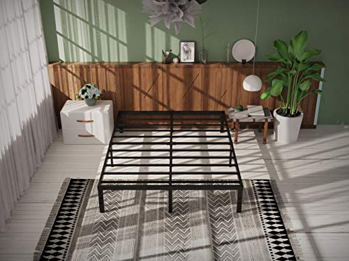 COMASACH 14 Inch King Size Bed Frame