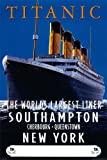 Titanic - Advertising Schiffe Ships Film Poster Plakat