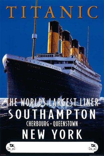 Titanic - Advertising Schiffe Ships Film Poster Plakat Druck - Grösse 61x91,5