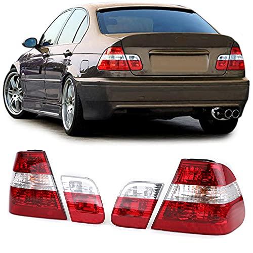 Carparts-Online 10053 Rückleuchten Rot Klar Facelift Optik