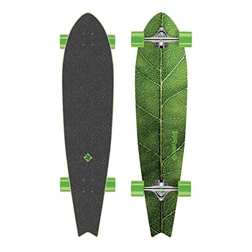 Streetsurfing Longboard Fishtail 42' - The Leaf