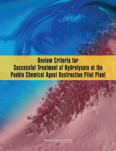 Review Criteria for Successful Treatment of Hydrolysate at the Pueblo Chemical Agent Destruction Pilot Plant (English Edition)