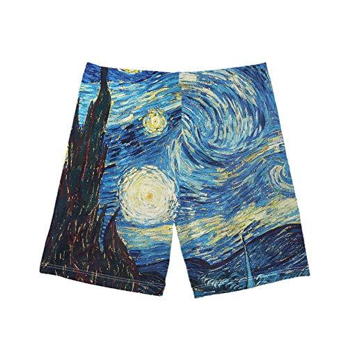 Coloranimal - Bañador para niño con impresión 3D, pantalones cortos de baño para playa, secado rápido, 5-14 años