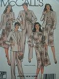 McCalls Jones NY Pattern 8877 Misses Jacket, Blouse, Skirt & Pants Size 14 Bust 36