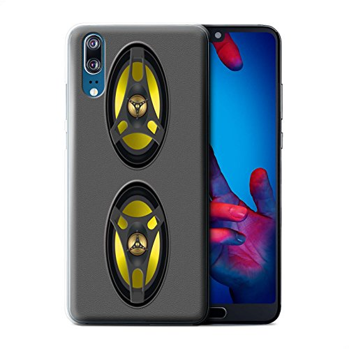 Stuff4® Phone Case/Cover/Skin/HUAGP-CC/Speaker Design Collection Huawei P20 stereo-installatie