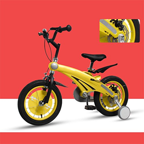 Les vélos d'enfants 12/14/16 Pouces bébé Mountain Bike Cadeau créatif Mode Mignon garçon Fille réglable (Couleur : N ° 3, Taille : 14 inches)