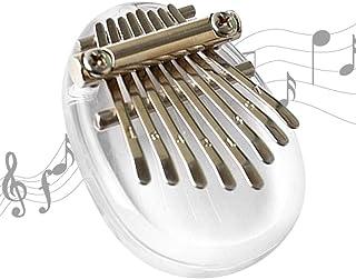 Metal Shrapnel Kalimba Shrapnel Durable Silver 8 Key Plucked Stringed Instrument Piano Finger Exerciser