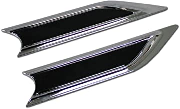 Beautost Fit For Honda 2017 2018 2019 CR-V CRV Front Side Fender Sticker Vents Air Outlet Cover Trim