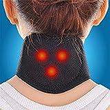 Protection cervicale auto-échauffante Douleurs chroniques au cou Support du cou et du cou pour les douleurs musculaires et maux de gorge, minerve auto-échauffante - Protection du cou aimantée e