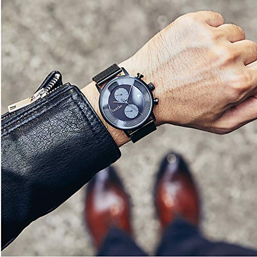 Watch Reloj de Hombre Reloj de Cuarzo de Moda a Prueba de...