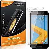 2 x SWIDO® Protector de pantalla HTC One A9s Protectores de pantalla de película 'AntiReflex' antideslumbrante