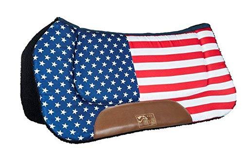 HKM Western Westernpad -Stars & Stripes-, Flag USA, Pony
