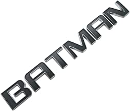 EMBLEM BATMAN FOR CARS TRUCKS CARS CHROME WITH BLACK REPLACEMENT