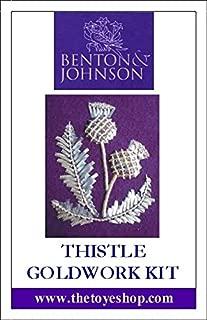 Thistle - Goldwork Kit by Benton & Johnson