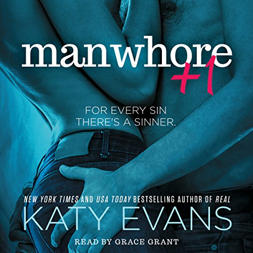 Manwhore +1 audiobook cover art