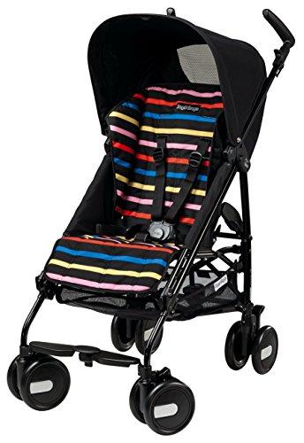 Peg-Pérego Poussette Canne - Silla de paseo para bebés, color negro (Poussette Mini)