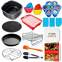 air fryer accessories kit - see it on Amazon
