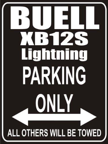 INDIGOS UG - Parkplatz - Parking Only buell-xb12ss-lightning-long - Parkplatzschild