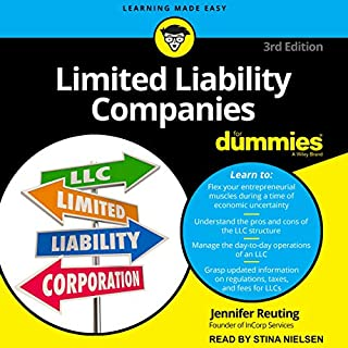 Limited Liability Companies for Dummies audiobook cover art